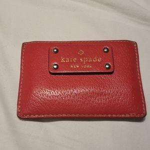Kate Spade Red Card Case